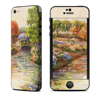 Apple iPhone 5 Skin - Giverny Forever