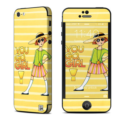 Apple iPhone 5 Skin - You Go Girl
