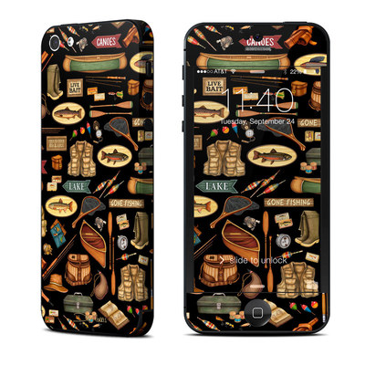 Apple iPhone 5 Skin - Gone Fishing