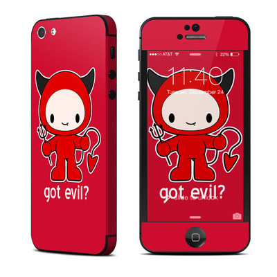 Apple iPhone 5 Skin - Got Evil