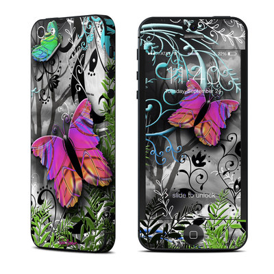Apple iPhone 5 Skin - Goth Forest