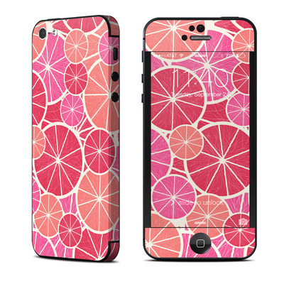 Apple iPhone 5 Skin - Grapefruit