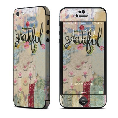 Apple iPhone 5 Skin - Grateful