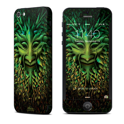 Apple iPhone 5 Skin - Greenman