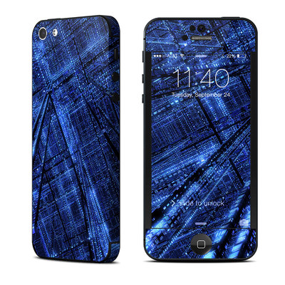 Apple iPhone 5 Skin - Grid