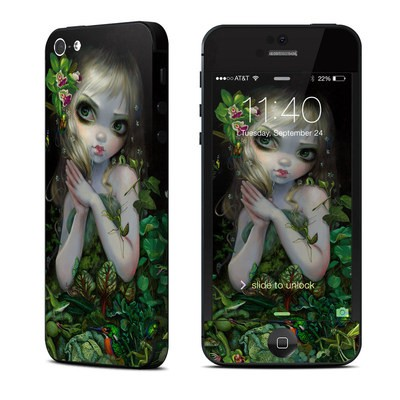 Apple iPhone 5 Skin - Green Goddess