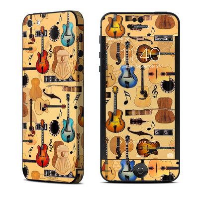 Apple iPhone 5 Skin - Guitar Collage