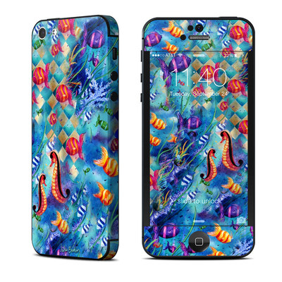 Apple iPhone 5 Skin - Harlequin Seascape
