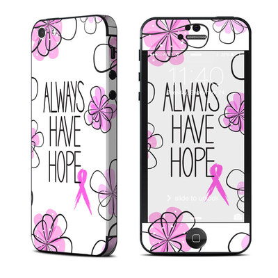 Apple iPhone 5 Skin - Always Have Hope