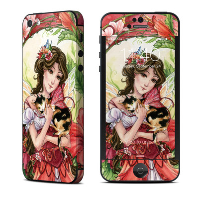 Apple iPhone 5 Skin - Hibiscus Fairy