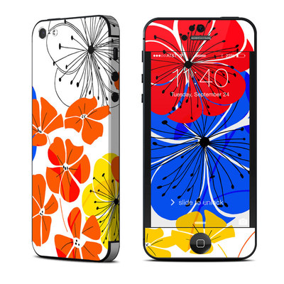 Apple iPhone 5 Skin - Hibiscus Dance