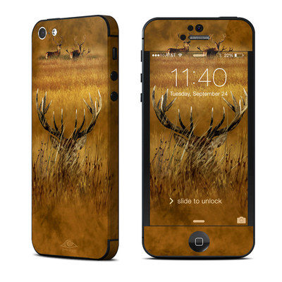 Apple iPhone 5 Skin - Hiding Buck