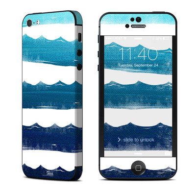 Apple iPhone 5 Skin - Horizon Lines