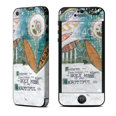 Apple iPhone 5 Skin - Holy Mess