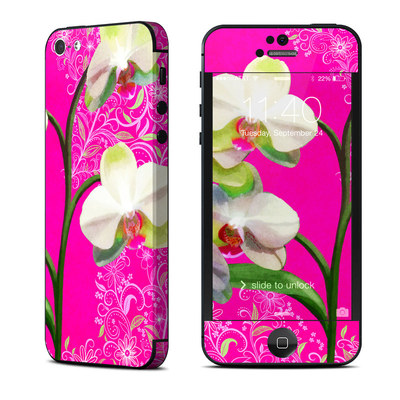 Apple iPhone 5 Skin - Hot Pink Pop