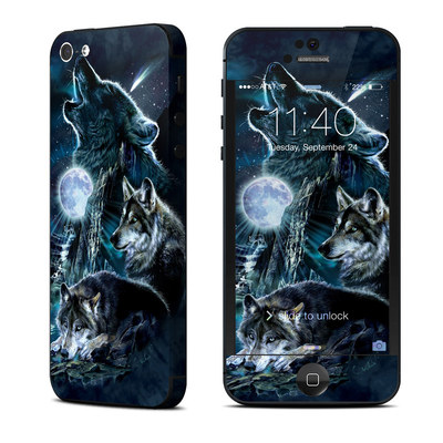 Apple iPhone 5 Skin - Howling