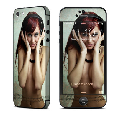 Apple iPhone 5 Skin - Headphones