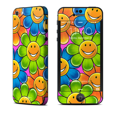 Apple iPhone 5 Skin - Happy Daisies