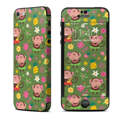 Apple iPhone 5 Skin - Hula Monkeys