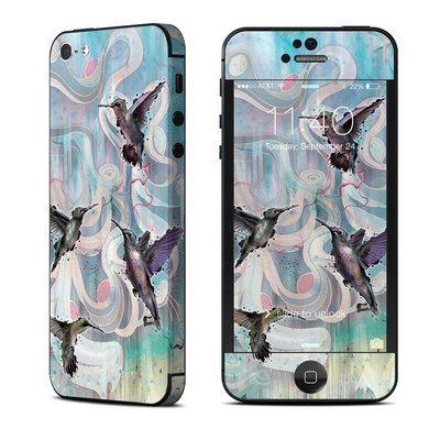 Apple iPhone 5 Skin - Hummingbirds