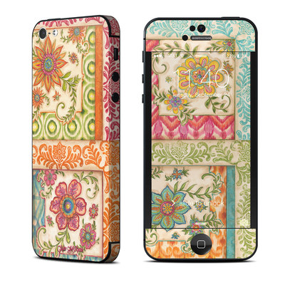 Apple iPhone 5 Skin - Ikat Floral