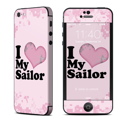 Apple iPhone 5 Skin - I Love My Sailor