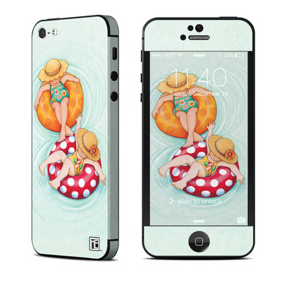 Apple iPhone 5 Skin - Inner Tube Girls