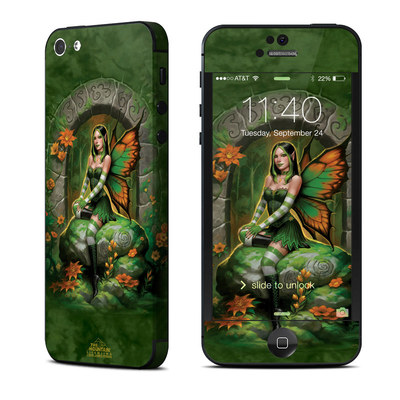 Apple iPhone 5 Skin - Jade Fairy