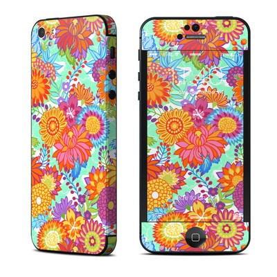 Apple iPhone 5 Skin - Jubilee Blooms