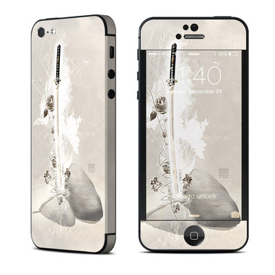 Apple iPhone 5 Skin - Katana Gold