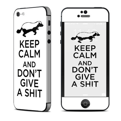 Apple iPhone 5 Skin - Keep Calm - HB