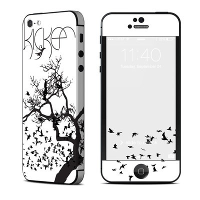 Apple iPhone 5 Skin - KICKER Birds