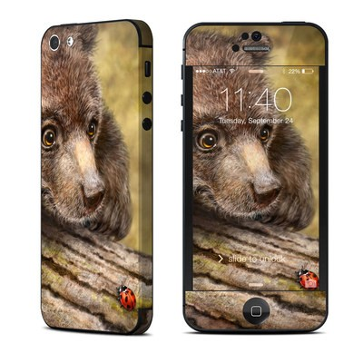 Apple iPhone 5 Skin - Kodiak Cub