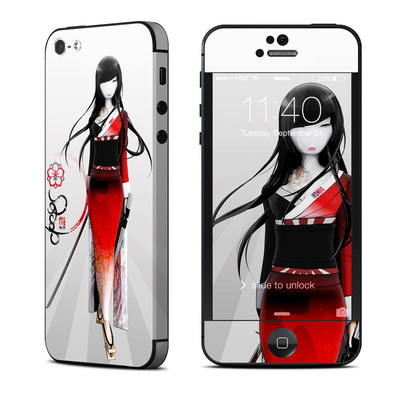 Apple iPhone 5 Skin - Kokeshi