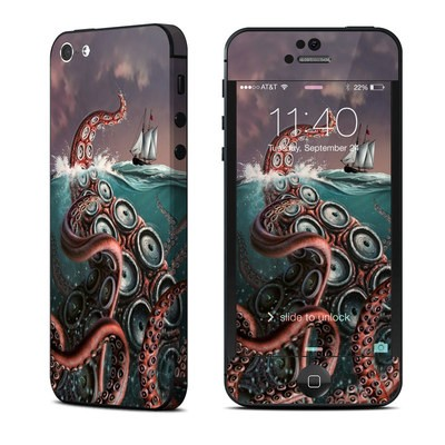 Apple iPhone 5 Skin - Kraken