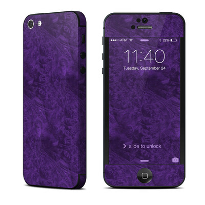 Apple iPhone 5 Skin - Purple Lacquer