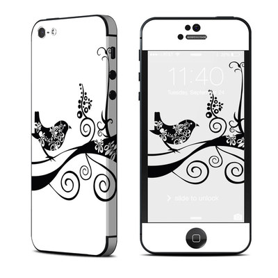 Apple iPhone 5 Skin - Little Curly