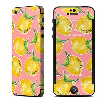 Apple iPhone 5 Skin - Lemon