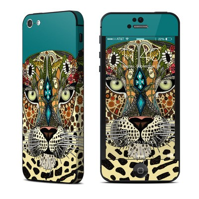 Apple iPhone 5 Skin - Leopard Queen