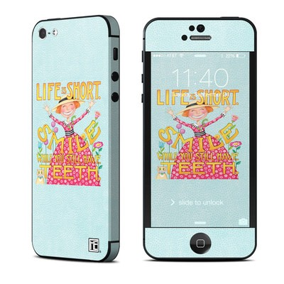 Apple iPhone 5 Skin - Life is Short