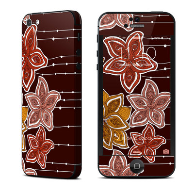 Apple iPhone 5 Skin - Lila