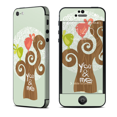 Apple iPhone 5 Skin - Two Little Birds