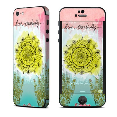 Apple iPhone 5 Skin - Live Creative