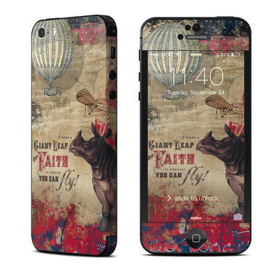 Apple iPhone 5 Skin - Leap Of Faith