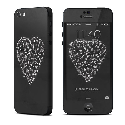 Apple iPhone 5 Skin - Love Me Not