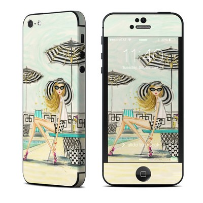 Apple iPhone 5 Skin - Luxe Retreat Poolside
