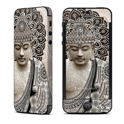 Apple iPhone 5 Skin - Meditation Mehndi