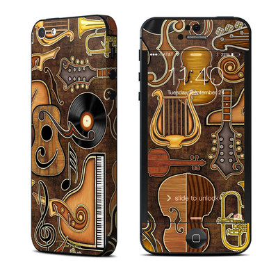 Apple iPhone 5 Skin - Music Elements