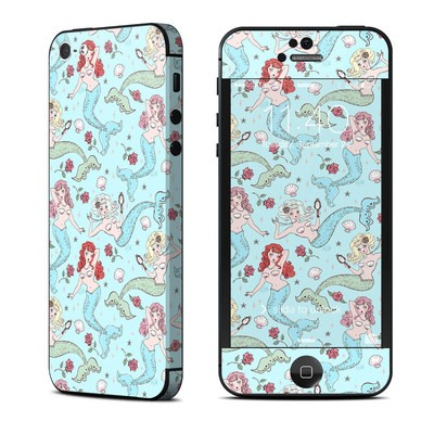 Apple iPhone 5 Skin - Mermaids and Roses