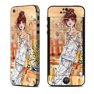 Apple iPhone 5 Skin - Mimosa Girl